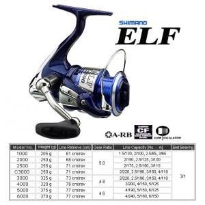 Shimano ELF 4000